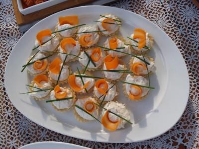 Jeg lavede lækre grillede asparges omviklet med lækker hjemmelavet